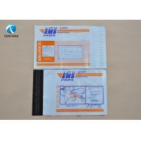 OEM DHL UPS EMS Plastic mailing envelopes , White poly mailers envelopes bags