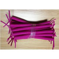 Buy cheap Fashion Custom Purple Color Plastic Expanding Lanyard Section Part Secure Tool Dropping from wholesalers