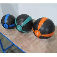 Buy cheap Crossfit Two Color Bouncing Medicine Ball Rubber Material OEM Logo from wholesalers