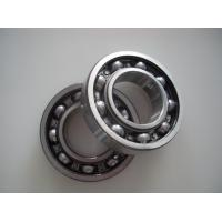 Quality Chrome Steel Deep Groove Ball Bearing 6206 2RS, 6206 ZZ for sale