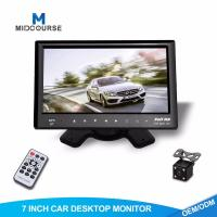 Buy cheap Adjustable Car Dash Monitor HD Rear View Camera And Car Multimedia System from wholesalers