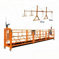 Buy cheap Electric Movable Suspended Working Platform / Window Cleaning Platform 300m from wholesalers