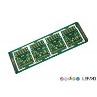 Buy cheap 10 Layers Printed Circuit Board PCB Green Solder Mask ENIG Surface Treatment product