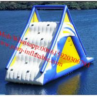 Buy cheap big inflatable slides, cheap inflatable water slides for sale AquaGlide Water Park from wholesalers
