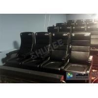 Buy cheap Large Screen 4D Cinema System With Comfortable Pure Hand-Wrapped PU Leather Motion Seats product
