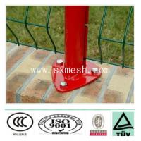 Buy cheap iron feet welded mesh fence wiith curves//pvc coated and galvanized from wholesalers