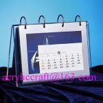 Buy cheap 2015 desktop acrylic brochure holder / acrylic calendar holder from wholesalers