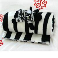 Buy cheap Plush Zebra Fleece Blanket (TPCX0153) from wholesalers