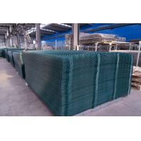 1.93*2.5m PVC coated triangle bending fence for convenient installation
