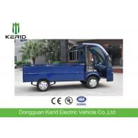 Buy cheap Low Noise 4 Wheels Electric Cargo Van Utility Cart With Stainless Steel Cargo Box from wholesalers