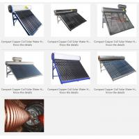 Buy cheap Compact Copper Coil Solar Water Heater from wholesalers