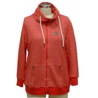 Buy cheap Stylish Red Ladies Casual Coats With Hide Hood Strong Cord Fall Women'S Jackets from wholesalers