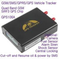 Buy cheap GPS106 Car Auto Taxi Truck Fleet GPS GSM Tracker W/ Photo Snapshot & Online GPRS Tracking from wholesalers