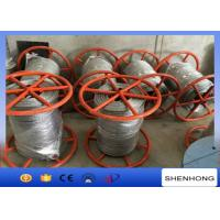 Buy cheap 300KN Breaking Load Anti Twist Wire Rope , Hot Dip Galvanised Steel Wire Rope from wholesalers