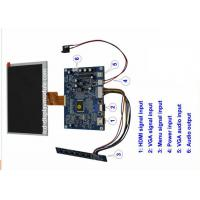 Buy cheap 7 Inch 1024 * 600 TFT LCD Monitor With VGA HDMI Signal Input White LED from wholesalers