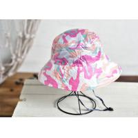 Buy cheap Camouflage Printing Custom Personalized Hats Nylon Fabric Flat Top Curved Brim from wholesalers