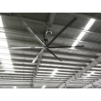 Buy cheap large industrial and low speed ceiling HVLS fans with 24ft in diameter from wholesalers