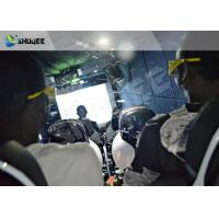 Buy cheap Virtual Reality Hydraulic / Electric 5D Simulator For 5D Movie Theater product