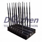 Buy cheap Lojack Remote Control Adjustable 14 Antennas WiFi UHF VHF GPS 3G 4G Phone Blocker from wholesalers