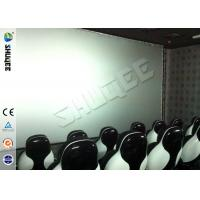 Buy cheap Genuine Leather Convenient 6D Movie Theater With 3DOF Motion Chairs from wholesalers