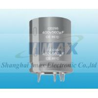 Buy cheap CD295 5000 Hours 85C Snap in aluminum electrolytic capacitor from wholesalers