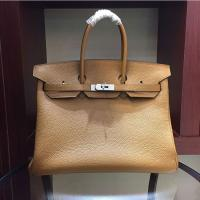 Buy cheap high quality 35cm light brown women european famous brands handbags TOGO leather bags designer handbags L-RB2-5 from wholesalers