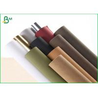 Buy cheap Pure Wood Pulp Kraft Liner Paper , Brown Kraft Paper Roll 150cm Width from wholesalers