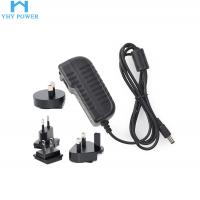 Buy cheap Interchangeable Universal Power Plug Adapter 12v 2.5a 30w from wholesalers