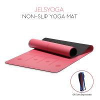 Buy cheap Durable Pink Gym Exercise Mat / Cool Custom Printed Patterned Yoga Mat from wholesalers