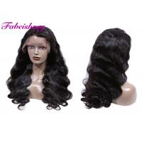 Buy cheap Kinky Or Deep Curl Front Lace Wigs Double Weft Tangle Free No Chemical from wholesalers