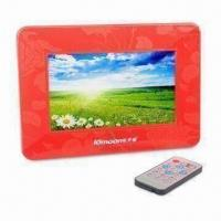 Buy cheap 7-inch Digital Photo Frame with -5 to 50°C Operating Temperature product