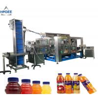 Buy cheap Juice filling machine with apple mango fruit processing plant aseptic small drink bottling with hot sealing packing mach product