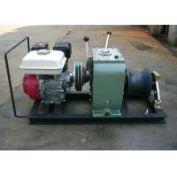 Buy cheap High Efficiency Fast Petrol Cable Winch Puller Engine Powered Capstan 3 Ton from wholesalers