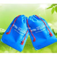 Buy cheap Personalized Advertising Drawstring Bag Colored Non Woven W25*H30 cm Size from wholesalers