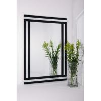 Buy cheap Decorative Wall mirrors Bathroom Mirror  White and Black Framed glass Mirror Grace Mirror from wholesalers
