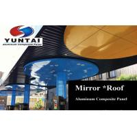 Buy cheap Mirror finish Aluminum Composite Panel wall cladding ACM building and construction material from wholesalers