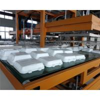 Buy cheap Mechanical Arm PS Foam Food Container Production Line Water Absorption Styrofoam Plate Making Machine product
