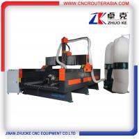 Buy cheap ZK-1325 700MM Z axis Hybrid Servo Motor China economic Stone Engraving Cutting Machine from wholesalers