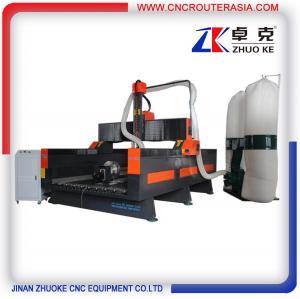 Buy cheap ZK-1325 700MM Z axis Hybrid Servo Motor China economic Stone Engraving Cutting Machine product