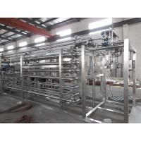 Buy cheap PLC Automatic Liquid Filling Machine With Tubular Or Tube In Tube Heat Exchanger product