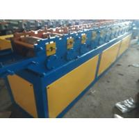 Saw Cutting Shutter Door Roll Forming Machine 1 Inch Chain Stable Transmission