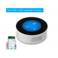 Buy cheap WiFi Multi Gas Detector LED Display Wireless Fire Alarm Networking APP Control from wholesalers