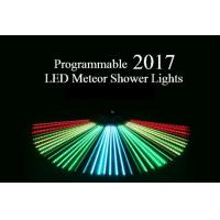Buy cheap Programmable Meteor Shower LED Christmas Lights UK / US Plug Full Color 80cm Length from wholesalers