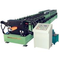 Buy cheap Color Steel Sheet Round Downspout Machine 3.5Kw Gutter Roll Forming Machine from wholesalers
