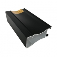 Buy cheap 6063 Black Anodic Oxidation Coated Aluminium Frame Extrusions from wholesalers