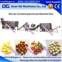 Buy cheap Large 200kg/h scale output air popped popcorn production line/makes equipment Jinan DG China supplier from wholesalers