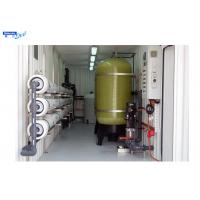 Buy cheap Portable Mobile Reverse Osmosis System International 20FT Container from wholesalers