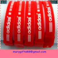 Buy cheap 2014 New Promotional Products Novelty Items Silicone Wristbands from wholesalers