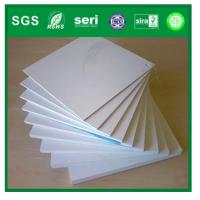 Buy cheap hot sale white offset printing pvc plastic sheet from wholesalers