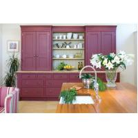 Buy cheap American standard modern kitchen cabinets with free kitchen design from wholesalers